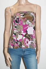 UCW Designer Floral Tiarna Strapless Top Size 18 BNWT #TE27