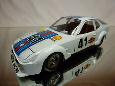 MEBETOYS  6732 PORSCHE 924 MARTINI RACING #41- WHITE 1:24 - EXCELLENT CONDITION
