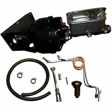 1966-1977 Ford Bronco Power Brake Kit No Modify Conversion w/ Drum Brake Lines