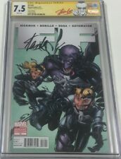 Marvel Fantastic Four #14 Signed by Stan Lee CGC SS 1:50 Venom Variant Red Label