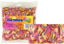 BULK LOLLIES 1 x MENTOS FRUIT CHEWS 200 PIECES PILLOW PACK CANDY BUFFET FAVOR