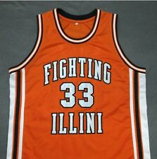 KENNY BATTLE Fighting Illinois Orange Away Basketball Jersey Gift Any Size