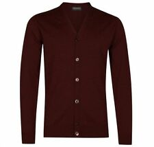John Smedley Wool Button-Front Cardigans for Men