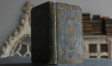 Antique Rare Old Book French Estate Story Of Two Young Farmers 19th Century +++