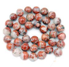 """10mm Red River Jasper Round Beads 16"""""""
