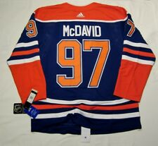 CONNOR McDAVID size 52 = Large  Edmonton Oilers Alternate 3rd ADIDAS NHL JERSEY