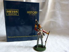 Lead toy soldier Oryon - Ref 8034 - British Light Inf. 28th Regt Gloucestershire