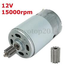 12V 15000 RPM Electric Motor Gear For Kids Ride On Car Bike Toy Spare Parts New