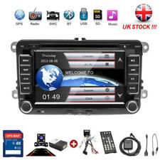 VW Passat Golf Transporter T5 Car GPS Stereo Radio SAT NAV DVD Player + Camera
