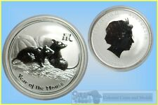 Lunar :- 2008 Year of the 'Mouse' One oz .Specimen