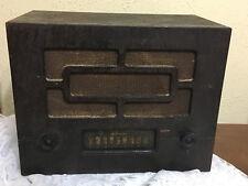 Vintage Antique Sears Silvertone Wood AM Radio Model 8050 Restoration Project??