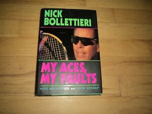 Nick Bollettieri Autobiography Tennis Coach Andre Agassi Seles Courier Becker