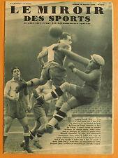 Miroir des Sports 1045 du 10/1/1939.Le F.C.Sète-Le Havre A.C. 3-0 - Tennis Budge