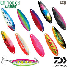 Daiwa Chinook S Laser 14 g 60 mm trout spoon various color