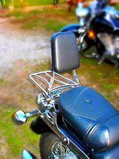 KAWASAKI VN 800 VN800 VULCAN SISSY BAR PASSENGER BACKREST + LUGGAGE RACK!