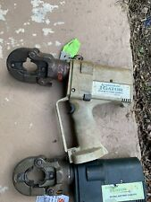 Greenlee Gator Crimping Tool Ek22Gl - For Parts - No Battery
