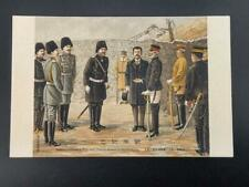 More details for meeting of general nogi and general stessel at shuishihying postcard c1900s