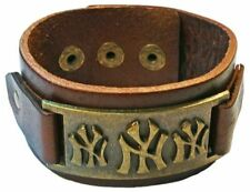 Unbranded Leather Bronze Fashion Jewellery