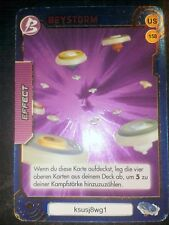 BEYBLADE - Trading Card - Effect - US 158 - BEYSTORM - Sammelkarte ultra selten