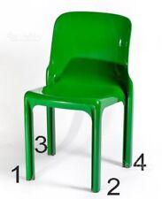SET Piedini (4 pezzi) per sedia SELENE di Artemide by Vico Magistretti