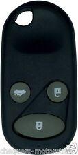 Fits Honda Civic CRV Accord Jazz 3 Button Remote Key Fob Case repair shell