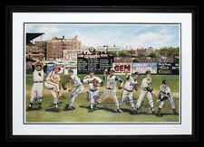 Beautiful 300 Win Club Signed Large 22x32 Lithograph Tom Seaver Nolan Ryan JSA