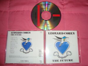LEONARD COHEN : THE FUTURE   Original COLUMBIA CD