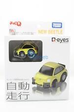 Takara Tomy Choro-Q Q-Eyes QE-05 Volkswagen New Beetle Tomica Toy Car Auto Drive