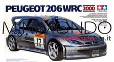 Kit PEUGEOT 206 WRC Rally Montecarlo 2000 Gronholm Delecour 1/24 Tamiya 24226
