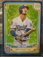 CODY BELLINGER DODGERS 2020 TOPPS GYPSY QUEEN THE STAR BLUE VARIATION SP 077/250