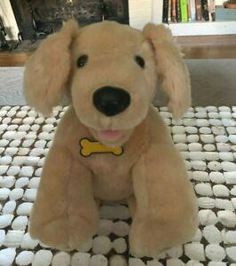 Build A Bear Workshop Golden Retriever Lab Labrador Stuffed Dog Plush BABW Large