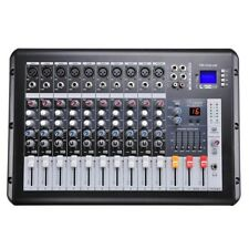 Audio2000'S Amx7313-Professional Eight-Channel Audio Mixer with Usb and Dsp P.