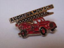Pin's Camion Pompier / sapeurs pompiers d'Auchy la Montagne (Oise)