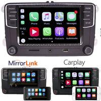 "6.5""Autoradio RCD330 CarPlay MirrorLink BT RVC Pour VW Golf Passat Polo Caddy CC"