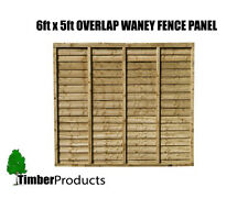 SPECIAL OFFER! 6x5 Waney lap fence panels also sell 6x2, 6x3, 6x4, 6x5 and 6x6