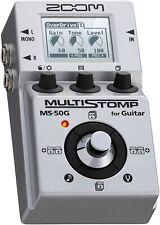 ZOOM MS-50G Multieffektpedal mit Zoom AD-16 Netzteil