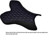 Hex púrpura Stitch Custom Fits Yamaha 1000 Yzf R1 04-06 Frontal De Cuero Funda De Asiento