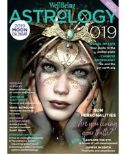 Wellbeing Astrology Magazine 2019 Moon Calendar, Year Ahead Horoscope (NEW)