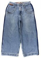 Vintage Jnco Reverb Wide Leg Skater Jeans Mens 34x28 Baggy 90s Rave Made USA