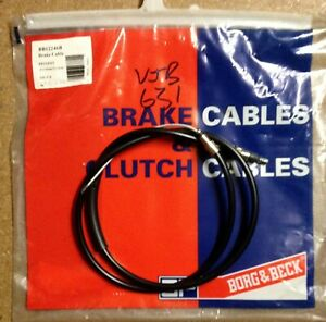 NEW BC2246 VJB631 BRAKE CABLE Rear LH Peugeot 309 1.9i with disc rear brakes