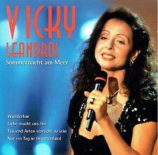(CD) Vicky Leandros - Sommernacht Am Meer, Nur ein Tag in Griechenland, u.a.