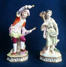 Pair of Royal Crown Derby Figurines