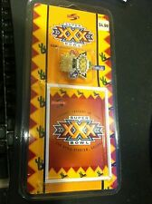 SUPER BOWL XXX 1996 Score Commemorative Pin & Card SEALED NEW LIMITED EDITION!