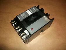 Fuji Electric Circuit Breaker Bu-Eca3015 15 Amp 3 Pole 240Vac Nice!