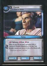 Star Trek CCG What You Leave Behind RARE 14R83 Sarek, Logical Being