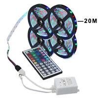 20m/66ft 3528 RGB LED light remote control SMD Flexible LED strips Decor+44 keys