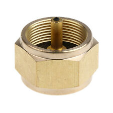 Copper Propane Adapter Connector Butane Tank Camping Picnic Stove Coupler