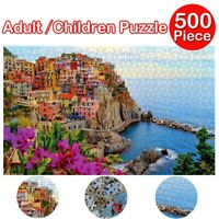 500 Piece Jigsaw Landscape Puzzles Adult Kids Educational Puzzle Gift New USA