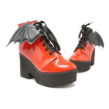 IRON FIST WOMENS RED BATWING BOOTS