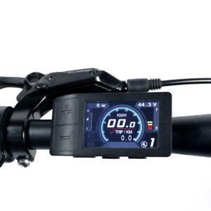 Electric Bike HMI APT 500C Mini LCD Display For 8fun Mid Drive BBS01 BBS02 BBSHD